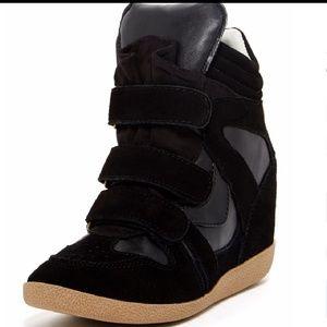 Steve Madden Hilight black boots size 10 EUC